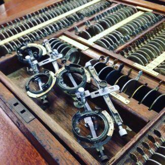 Vintage Optometry Spectacle Set