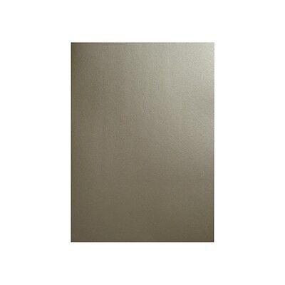 Silber Karton 210g 10 Blatt A4 silberner Pollen Metallic Bastelkarton