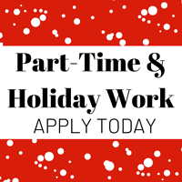 Student Work Opportunities - Part-Time & Holiday Work