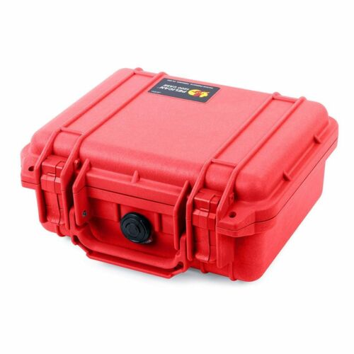 Red Pelican 1200 Case with Foam.