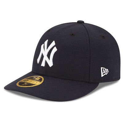 New Era 5950 New York Yankees GAME Low Profile Fitted Hat (DKNV) MLB Cap Cap New Era 5950 Game