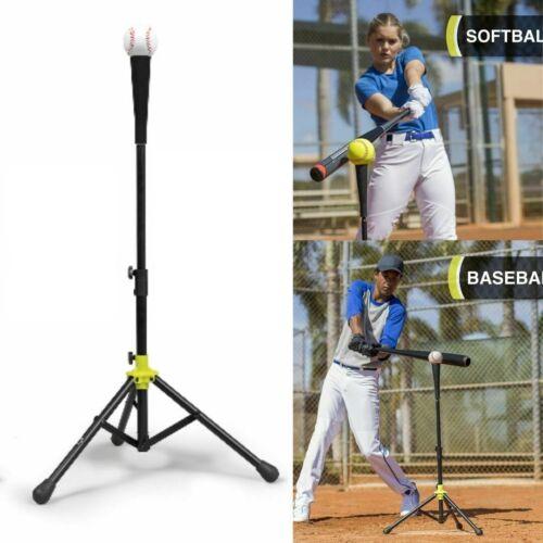 Baseball Batting Tee Softball Kid Practice Hitting Adjustable Sport Training Bat