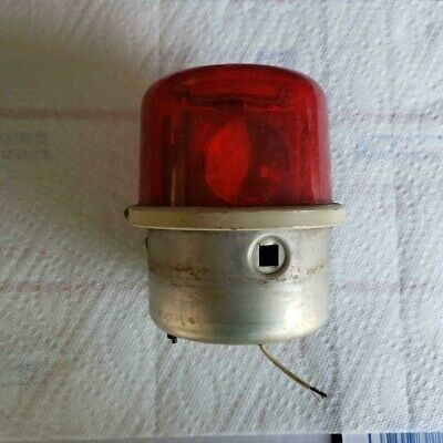 Whelen Vintage Rotating Beacon Assy Wrm 12v Dc - Parts