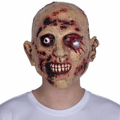 Horror Maske als Partymaske Narbengesicht für Halloween Karneval Fastnacht ()