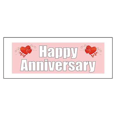 Happy Anniversary DECAL STICKER Retail Store - Happy Anniversary Signs