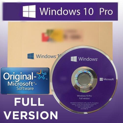 Microsoft Windows 10 Pro (64-Bit) Windows FQC-08930