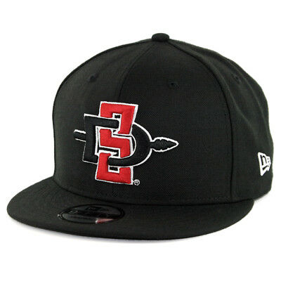 new product 8e9a4 47cfe New Era 9Fifty SDSU San Diego State Aztecs Snapback Hat (Black) Men s Cap