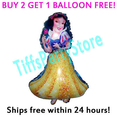 Snow White Birthday - HUGE 2-Sided Snow White Mylar Balloon Birthday Party Supplies Disney Princess