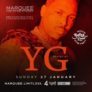 x4 YG After Party Marquee