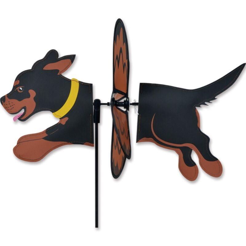 Rottweiler Garden Wind Spinners