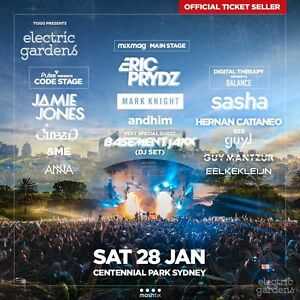 Electric Gardens Hard Copy Tickets Sydney City Inner Sydney Preview