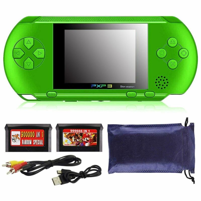 Handheld Spielkonsole Retro Player Spiele Tragbare Konsolen Video Game 16Bit