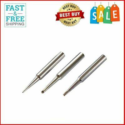 Quality St Soldering Iron Tips 3pcs Combo For Weller Wlc100 Sp40nkus Sp