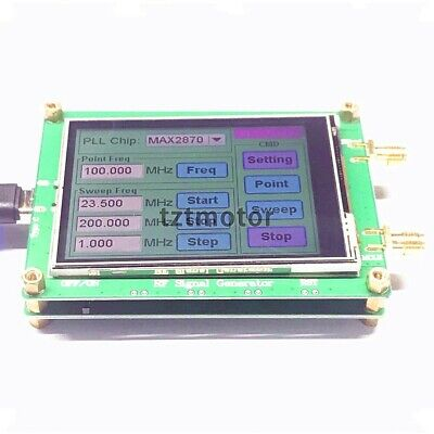 23.5-6000m Rf Signal Generator 0.5ppm Low Noise Frequency Sweep Touch Screen Pc