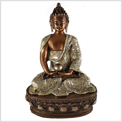 Erleuchteter Buddha Dhyana Mudra Meditation 33cm ca.4 KG Erleuchtung Buddhismus