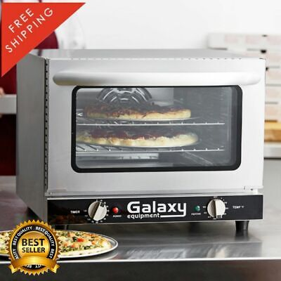 Quarter Size Countertop Convection Oven Electric Standard Depth Durable 120 Volt