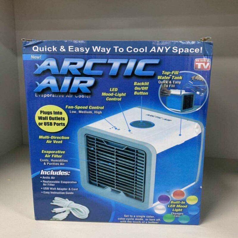 Arctic Air  Mini Portable Air Conditioner Cooler Evaporator Home Office Usb
