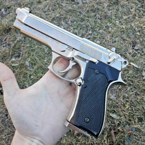 Denix M92 Automatic Pistol Replica Simulated Firing/Loading Removeable Magazine