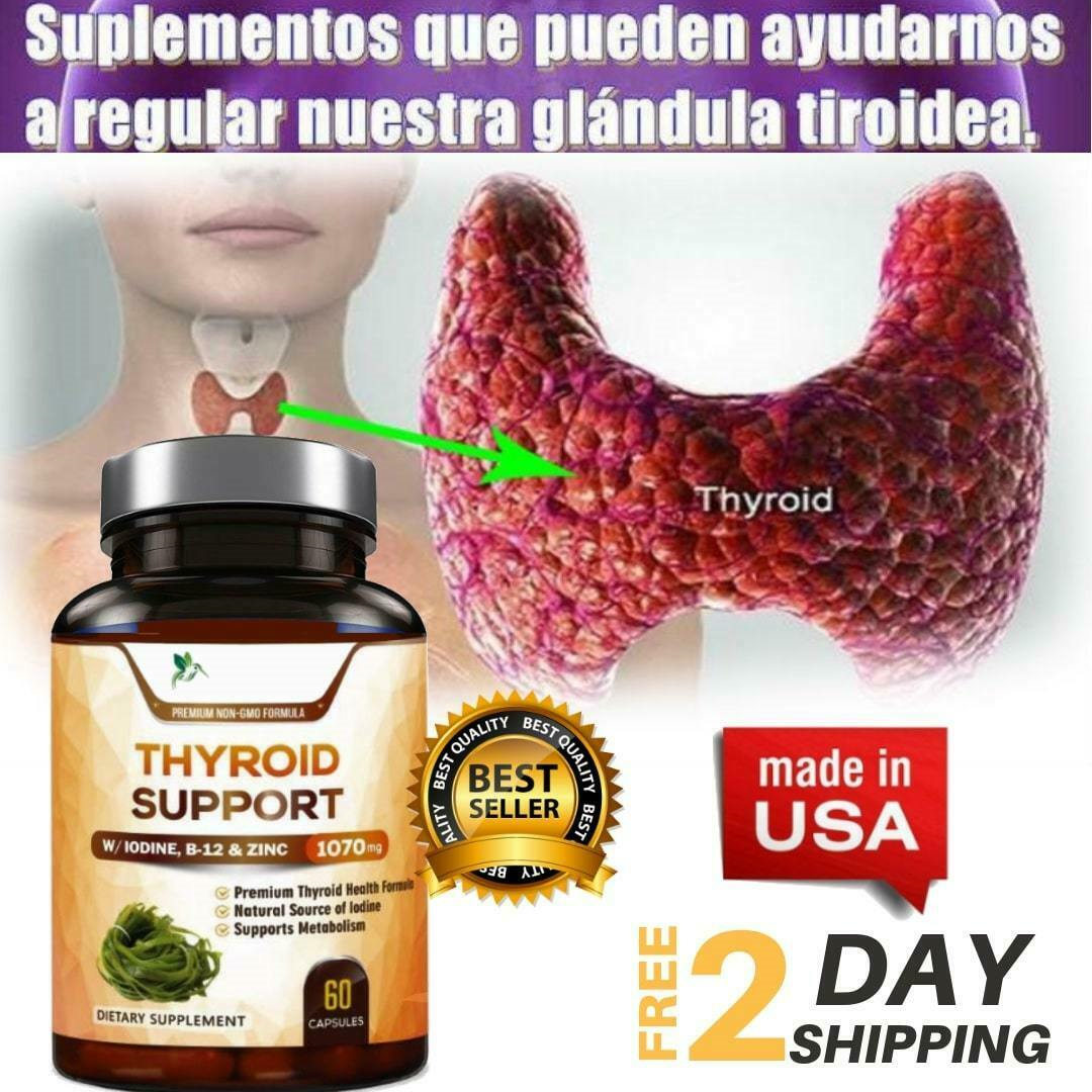 Suplemento Para Tiroides - Bajar De Peso Con Yodo Aumentar Metabolismo Y Energí