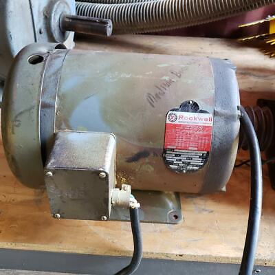 Rockwell 96-449 Motor 7.5 Hp Woodworking Machinery