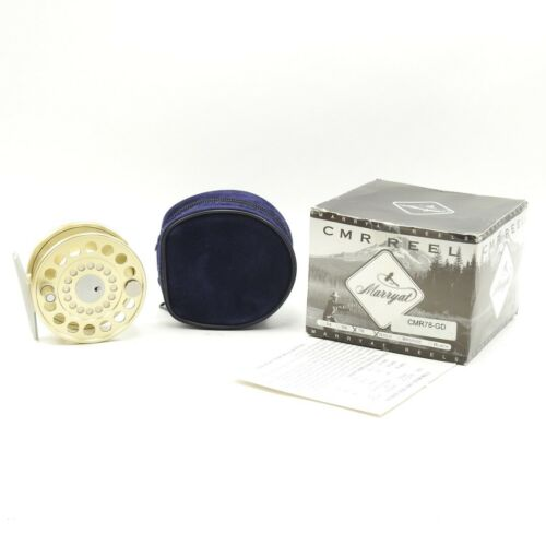 Marryat CMR 78 Fly Fishing Reel. Swiss Made. W/ Box and Case.