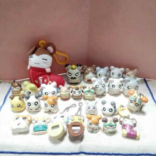 Hamtaro Figures Mini Lot Hamster Vintage Figure Furniture Toy Set