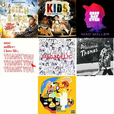 Mac Miller - 7 Mixtape CD Combo  Kids Best Day Ever  Macadelic Faces Thank
