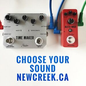 New Effects Pedals with Freebies - Newcreek.ca