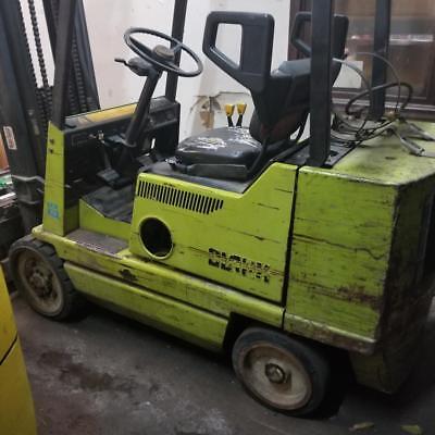 Clark Gcx25 Propane Forklift - Needs Repairs