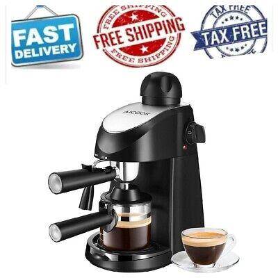 Best Expresso Machine Small Espresso Maker RV Espreso Coffee Milk Frothers