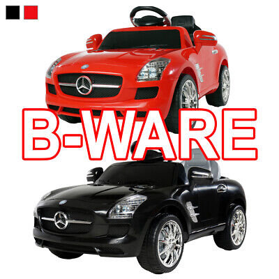 B-Ware Kinder Elektro Auto Mercedes SLS AMG Kinderfahrzeug Fahrzeug gebraucht