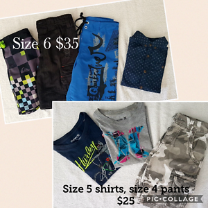 Boys Size 5 and 6 surf clothes excel condition Narangba Caboolture Area Preview