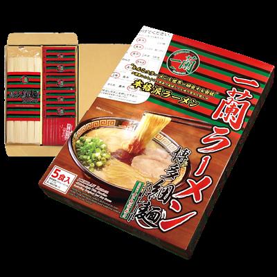 ICHIRAN ramen tonkotsu noodle soup hakata style (5 servings)