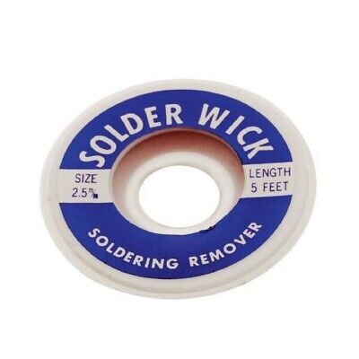 Aven Copper Desoldering Wick Braid Solder Soldering Remover 2.5mm 5ft.