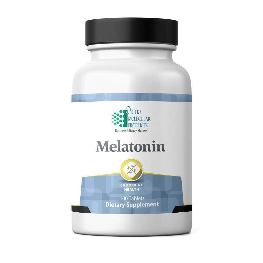 Ortho Molecular - Melatonin 1mg 100 Tabs Exp 1/20
