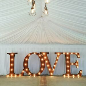40% OFF LIGHT UP LOVE LETTERS FOR HIRE WEDDING, BIRTHDAYS ETC! Perth Perth City Area Preview
