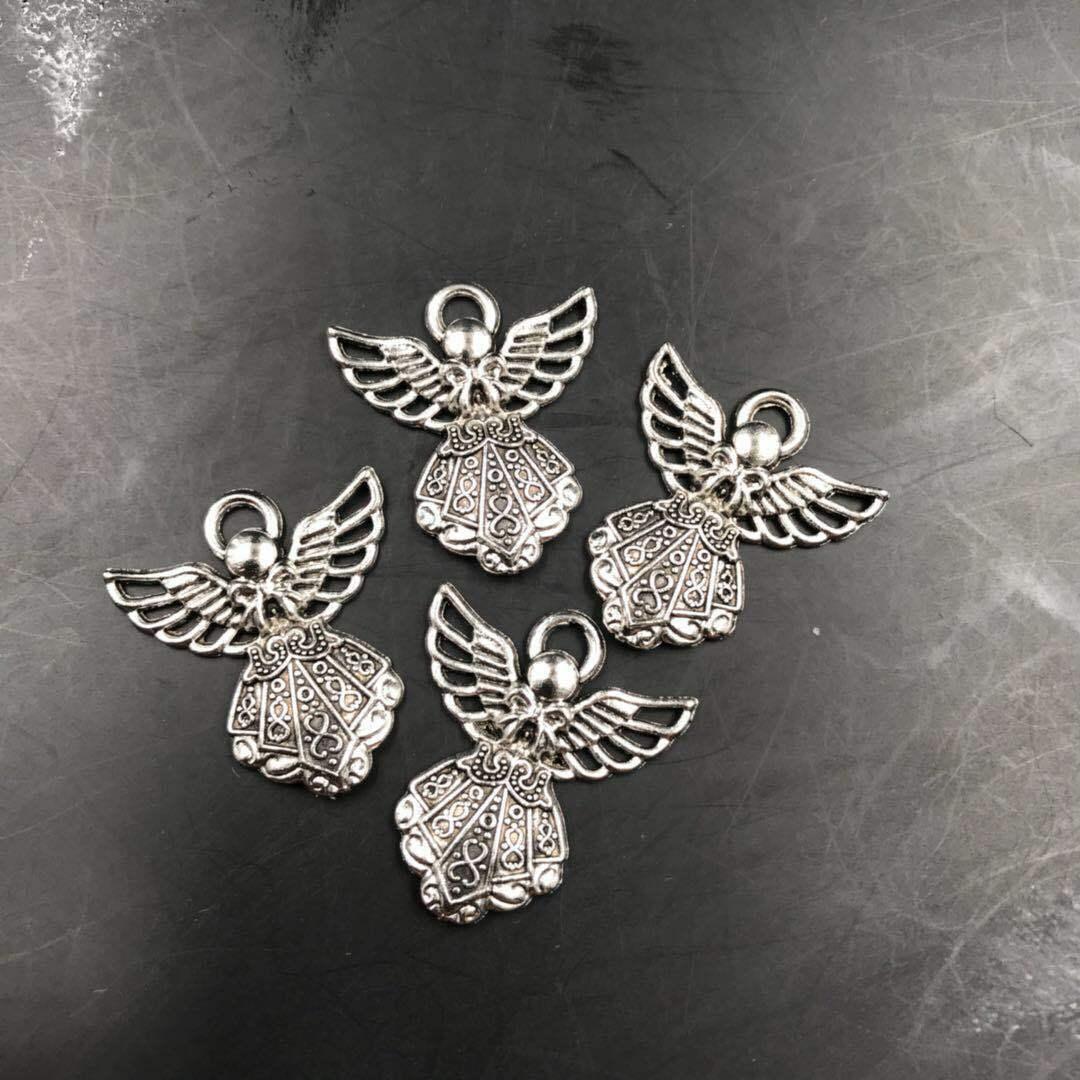 60pcs Tibetan silver spoon Charm Pendentif Perles Fabrication de Bijoux