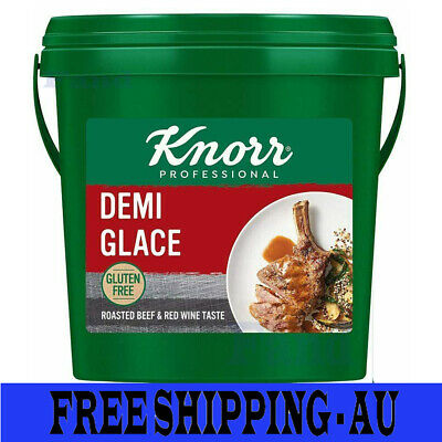 BRAND NEW Knorr Demi Glace Sauce Gluten-Free 1.8 kg tub Au Stock