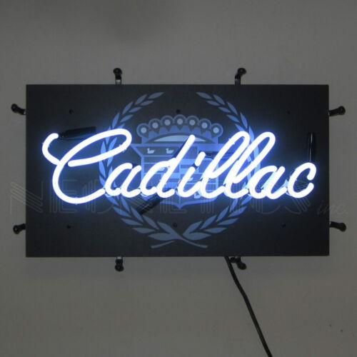 Neon Sign Cadillac Dealership wall lamp Escalade Eldorado Coupe DeVille Garage