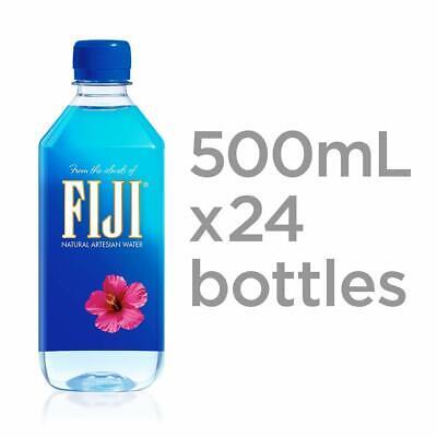 FIJI Natural Artesian Water 16.9 oz  Bottles (Pack of 24)  New!!  Clean & PURE!