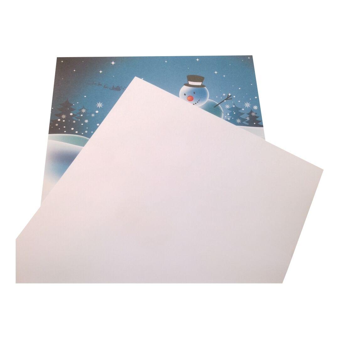 briefpapier schneem nner winter 100g a4 motivpapier. Black Bedroom Furniture Sets. Home Design Ideas