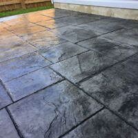 Better Lawns Stamped Concrete