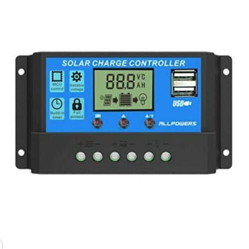 Allpowers 20A Solar Charger Controller Solar Panel Battery I