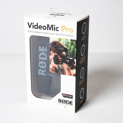 Rode VideoMic Pro Compa Shotgun Directional On-Camera Microphone w/ Shockmount