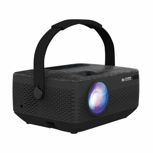 NEW Core Innovations CJR720BLHD HD Portable Home Theater Projector