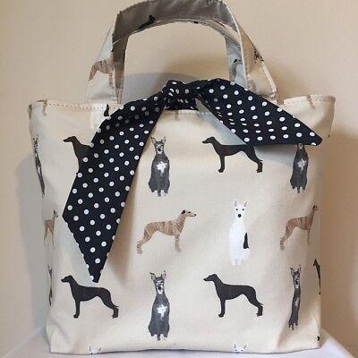 Whippet Dog Print Bag