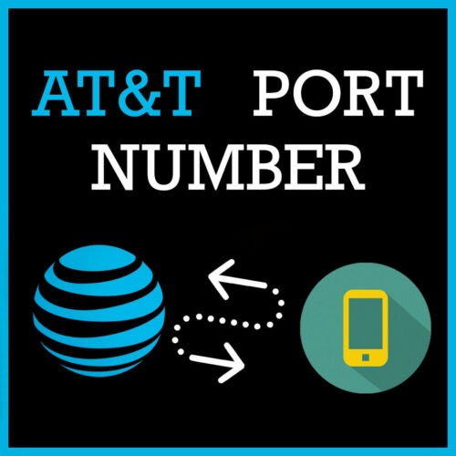 BULK DISCOUNT AT&T Phone Numbers to Port Any Zip/Area Code FAST Bundles Vanity