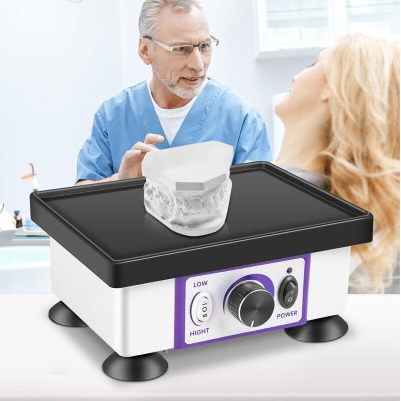 VEVOR 120W Dental Square Vibrator Vibrating Equipment Oscillator Shaker 4.4LBS