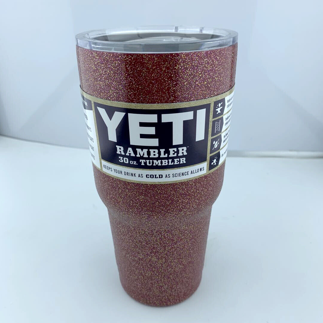 RED 30oz Rambler Tumbler Stainless Steel Tumbler Cup with Li