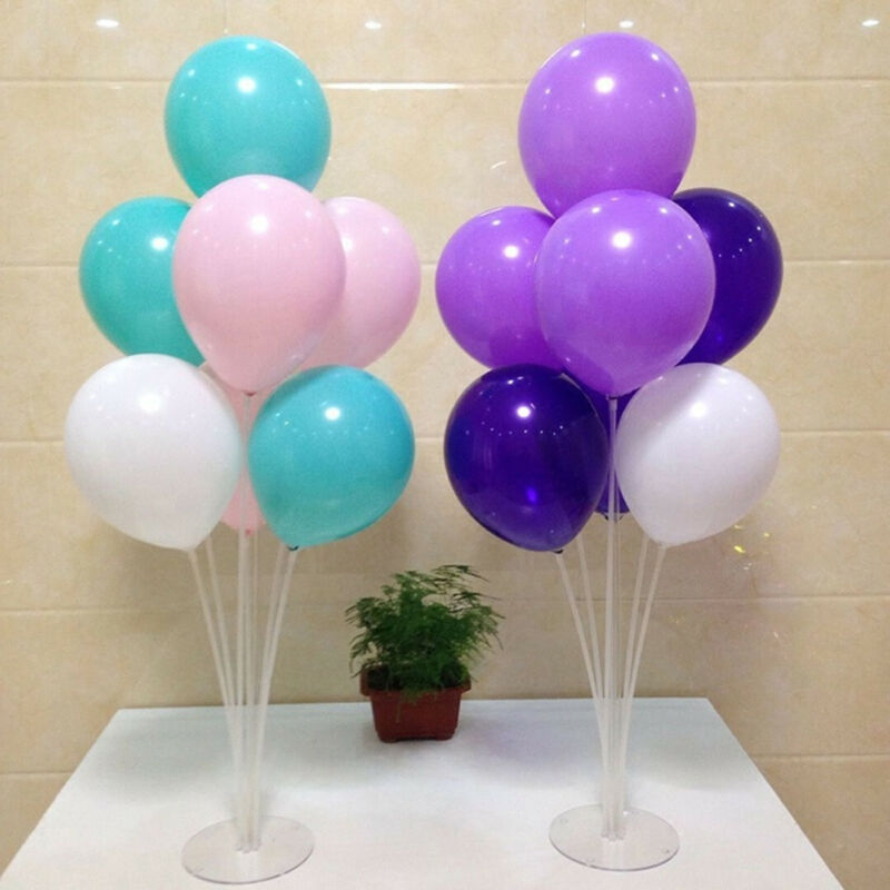 Clear Balloon Column Upright Balloons Display Stand Wedding Party Decor US KX
